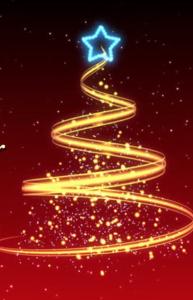 xmas tree+star