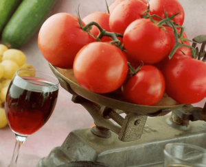 Tomatoes and Wine
