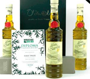 3 bottles olive oil