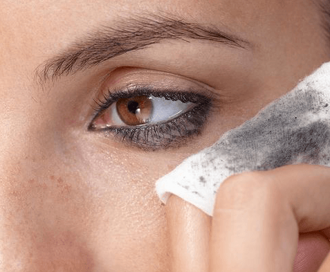 removing eye makeup