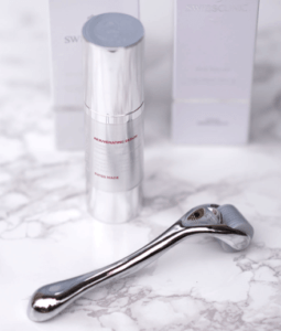 swiss skin roller+serum