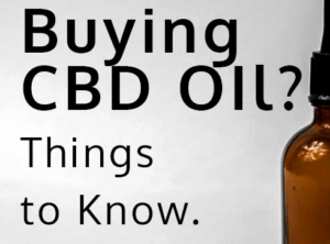 Buying CBD Oil?