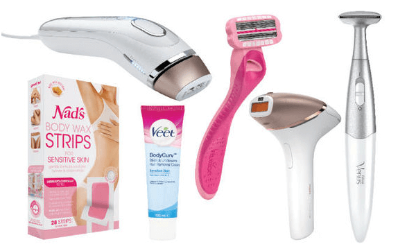 Multi hair removal devices
