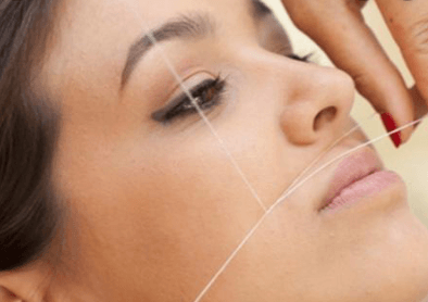 Threading Upper Lip