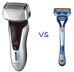 electric or manual shaving