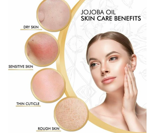 Girl Applying Jojoba Oil
